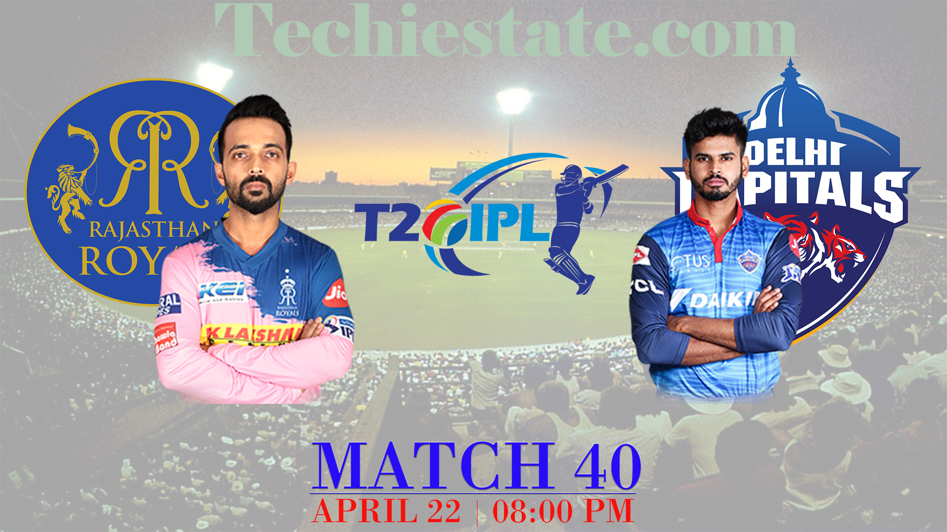 Rajasthan Royals Vs Delhi Capitals Match Prediction, Live Streaming Updates