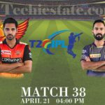 Sunrisers Hyderabad vs Kolkata Knight Riders 38th Match Prediction, Live Cricket Updates