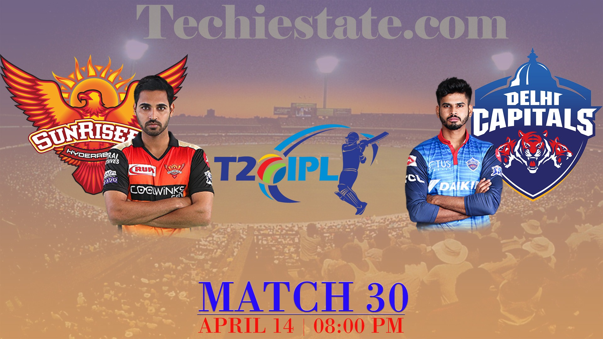SRH Vs DC 30th Match Prediction, Live Cricket Score Updates