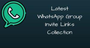 [*latest*] WhatsApp Group Link List 2019
