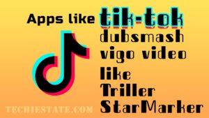 Best Five Apps Like TikTok