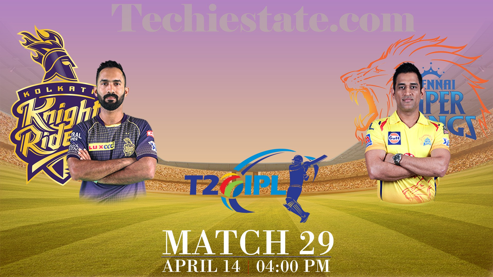 KKR Vs CSK 29th T20 Match Prediction, Live Streaming Scores