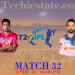Kings XI Punjab vs Rajasthan Royals 32nd Match Prediction, Live Cricket Scores
