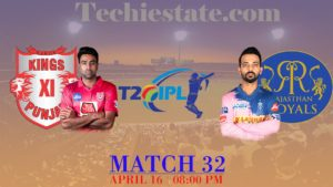 Kings XI Punjab vs Rajasthan Royals 32nd Match Prediction, Live Cricket Scores