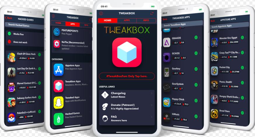 TweakBox Store Features