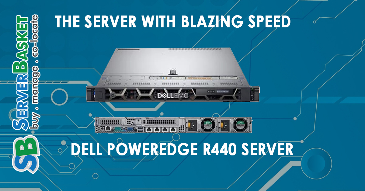 Who Can Use The Blazing Fast Dell PowerEdge R440 Server ?