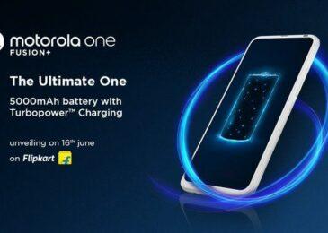 Motorola One Fusion Plus Launched On Flipkart-Sale Tommorow