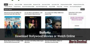 Bolly4u 2020: Download Latest HD Bollywood, Hollywood Movies Online