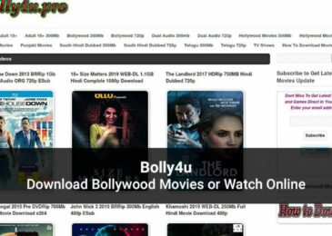 Bolly4u 2020: Download Latest HD Bollywood, Hollywood Movies Online