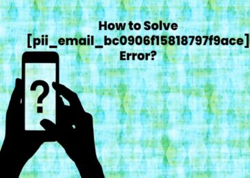 Best Ways to Fix [pii_email_bc0906f15818797f9ace] Outlook Error