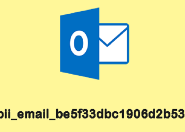 How to Fix Microsoft Outlook Error [Pii_email_be5f33dbc1906d2b5336]?