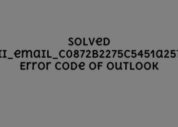 Fix Outlook Error Code [pii_email_c0872b2275c5451a2577] [100%]
